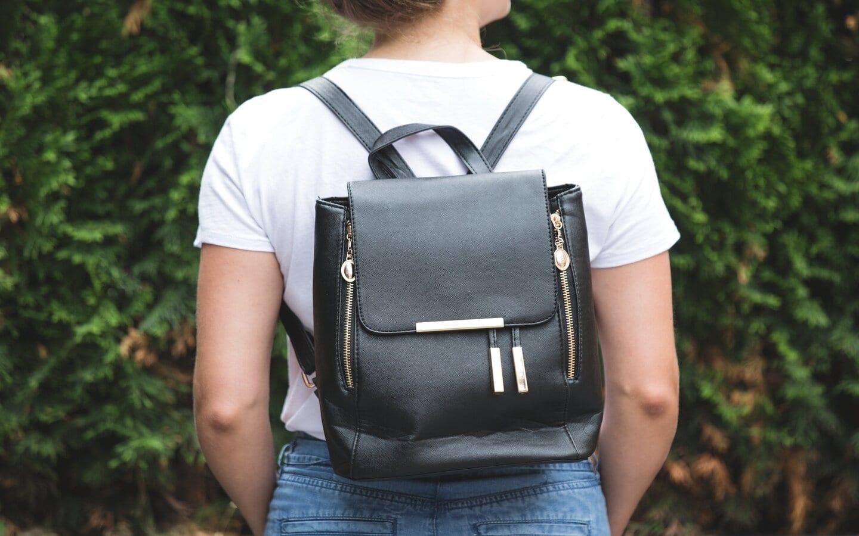 black gold fashion backpack 1